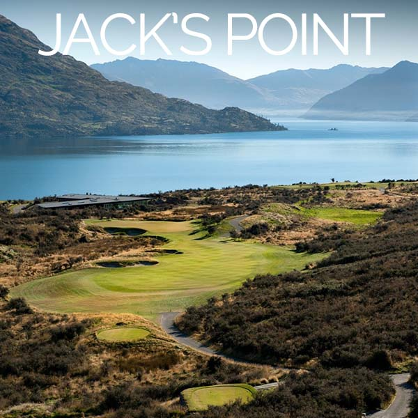 Jacks Point golf course queenstown nz