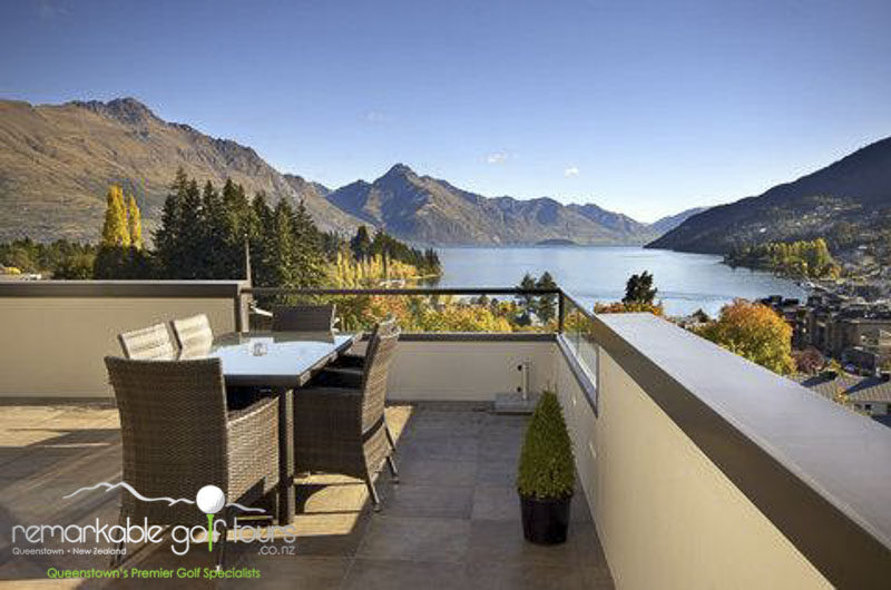 Queenstown accommodation golf tour 5 remarkable golf for 5 the terrace queenstown