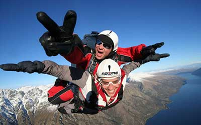 Skydiving queenstown nz