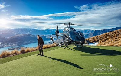 heli golf queenstown