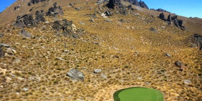 helicopter golf in queenstown